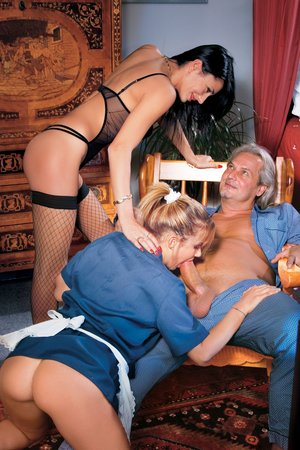Jessica Ross, the Waitress, Sofia Gucci & the Old Fellow